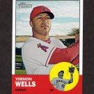 2012 Topps Heritage Baseball #117 Vernon Wells - Los Angeles Angels