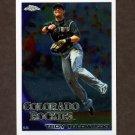 2010 Topps Chrome Baseball #143 Troy Tulowitzki - Colorado Rockies
