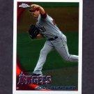 2010 Topps Chrome Baseball #026 Joe Saunders - Los Angeles Angels