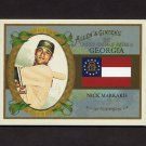 2008 Topps Allen and Ginter Baseball United States #US10 Nick Markakis - Baltimore Orioles