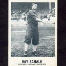 1977-84 Galasso Glossy Greats Baseball #177 Ray Schalk - Chicago White Sox