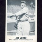 1977-84 Galasso Glossy Greats Baseball #171 Joe Judge - Washington Senators