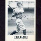 1977-84 Galasso Glossy Greats Baseball #164 Fred Clarke - Pittsburgh Pirates