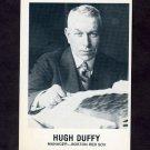 1977-84 Galasso Glossy Greats Baseball #147 Hugh Duffy MG - Boston Red Sox