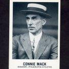 1977-84 Galasso Glossy Greats Baseball #145 Connie Mack MG - Philadelphia Athletics