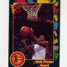 1991-92 Wildcard Basketball #007A Isiah Thomas - Indiana