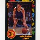 1991-92 Wildcard Basketball #084 John Stockton - Gonzaga