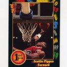 1991-92 Wildcard Basketball #083 Scottie Pippen - Central Arkansas NM-M