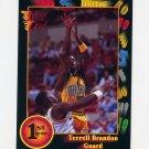 1991-92 Wildcard Basketball #040 Terrell Brandon - Oregon