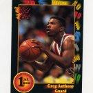 1991-92 Wildcard Basketball #016 Greg Anthony - UNLV