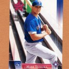 2002 Leaf Rookies and Stars Baseball #105 Mark Teixeira - Texas Rangers