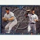 1995 Leaf Cornerstones Baseball #3 Wade Boggs / Don Mattingly - New York Yankees