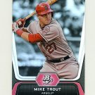 2012 Bowman Platinum Baseball #016 Mike Trout - Los Angeles Angels