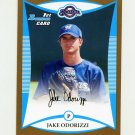 2008 Bowman Draft Prospects Gold Baseball #BDPP051 Jake Odorizzi - Milwaukee Brewers