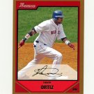 2007 Bowman Gold Baseball #125 David Ortiz - Boston Red Sox
