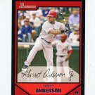 2007 Bowman Baseball #157 Garret Anderson - Los Angeles Angels