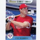 1999 Bowman Scout's Choice Baseball #SC3 Pat Burrell - Philadelphia Phillies