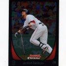 2011 Bowman Chrome Baseball #019 Dustin Pedroia - Boston Red Sox
