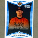 2008 Bowman Chrome Prospects Baseball #BCP216 Kyle Schmidt - Baltimore Orioles