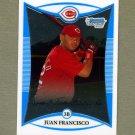 2008 Bowman Chrome Prospects Baseball #BCP195 Juan Francisco - Cincinnati Reds