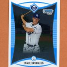 2008 Bowman Chrome Draft Prospects Baseball #BDPP055 Jake Jefferies - Tampa Bay Rays