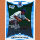 2008 Bowman Chrome Draft Prospects Baseball #BDPP047 Johnny Giavotella - Kansas City Royals