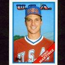 1988 Topps Traded Baseball #066T Tino Martinez RC - Seattle Mariners