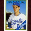 1988 Topps Traded Baseball #062T Mike Macfarlane RC - Kansas City Royals