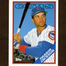 1988 Topps Traded Baseball #056T Darrin Jackson RC - Chicago Cubs