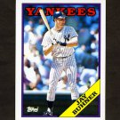 1988 Topps Traded Baseball #021T Jay Buhner RC - New York Yankees
