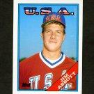 1988 Topps Traded Baseball #001T Jim Abbott RC - California Angels
