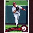 2011 Topps Baseball #448 Colby Rasmus - St. Louis Cardinals