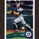 2011 Topps Baseball #399 Adam Moore - Seattle Mariners