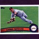 2011 Topps Baseball #363 Aaron Rowand - San Francisco Giants