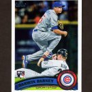 2011 Topps Baseball #347 Darwin Barney RC - Chicago Cubs