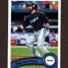 2011 Topps Baseball #346 Jose Bautista - Toronto Blue Jays