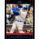 2007 Topps Update Baseball #265 Jorge Posada - New York Yankees