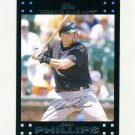 2007 Topps Update Baseball #120 Jason Phillips - Toronto Blue Jays
