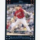 2007 Topps Update Baseball #093 Chris Sampson - Houston Astros