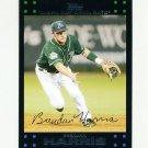 2007 Topps Update Baseball #092 Brendan Harris - Tampa Bay Devil Rays