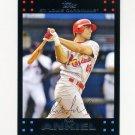 2007 Topps Update Baseball #085 Rick Ankiel - St. Louis Cardinals