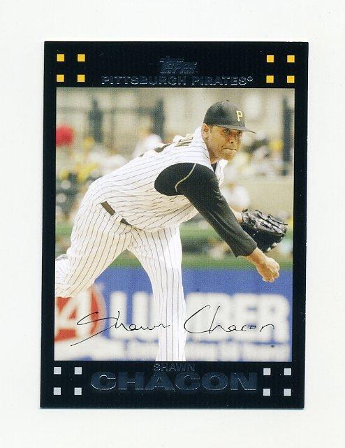 2007 Topps Update Baseball #061 Shawn Chacon - Pittsburgh Pirates