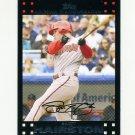 2007 Topps Update Baseball #047 Scott Hairston - Arizona Diamondbacks