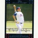 2007 Topps Update Baseball #039 Wilfredo Ledezma - Atlanta Braves