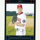 2007 Topps Update Baseball #037 Jason Simontacchi - Washington Nationals