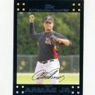 2007 Topps Update Baseball #001 Tony Armas Jr. - Pittsburgh Pirates