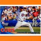2010 Topps Update Baseball #US295 Andrew Cashner RC - Chicago Cubs