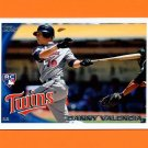 2010 Topps Update Baseball #US191 Danny Valencia RC - Minnesota Twins