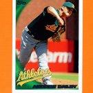 2010 Topps Baseball #186 Andrew Bailey - Oakland Athletics