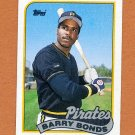 1989 Topps Baseball #620 Barry Bonds - Pittsburgh Pirates Ex
